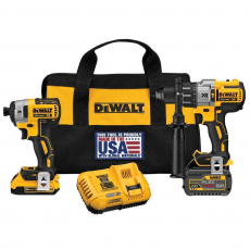 Набор Dewalt DCK299D1T1R refurbished шуруповерт, импакт, 2акб, зарядка, сумка DCK 299 D1 T1 ref
